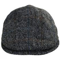 Harris Tweed Overcheck Herringbone Wool Ivy Cap alternate view 6
