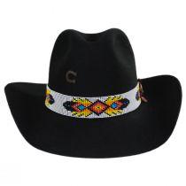 Raven Wool Felt Western Hat alternate view 2