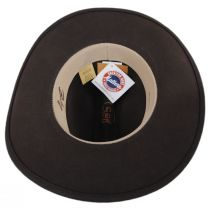 Chisolm Crushable Wool Litefelt Cattlemen Western Hat alternate view 12