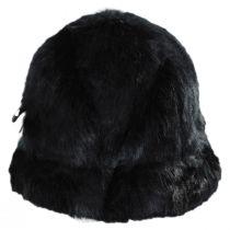 Suzette Faux Fur Cloche Hat alternate view 2