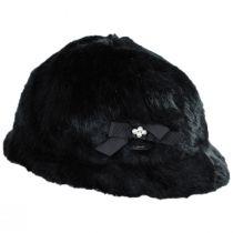 Suzette Faux Fur Cloche Hat alternate view 3