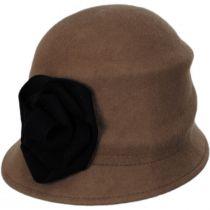 Alexandrite Wool Felt Cloche Hat alternate view 5