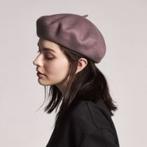 Audrey Satin Lined Wool Beret alternate view 27