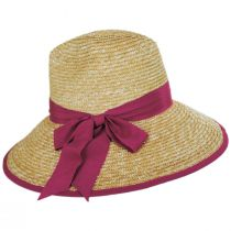 Celine Milan Straw Downbrim Fedora Hat alternate view 3