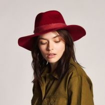 Ella Wool Felt Fedora Hat alternate view 10