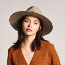 Piper Wool Felt Floppy Fedora Hat alternate view 5