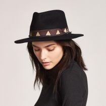 Venice Wool Felt Fedora Hat in