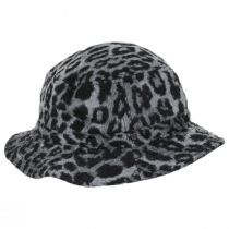 Hardy Leopard Wool Blend Bucket Hat alternate view 3