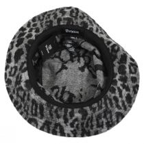 Hardy Leopard Wool Blend Bucket Hat alternate view 4