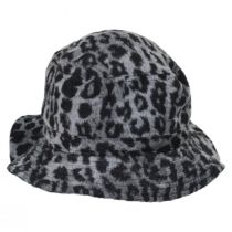Hardy Leopard Wool Blend Bucket Hat alternate view 7