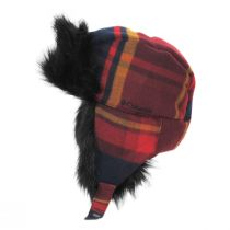 Winter Challenger Plaid Trapper Hat in