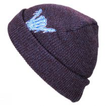 Pocket Pal Knit Embroidered Beanie Hat alternate view 2