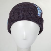 Pocket Pal Knit Embroidered Beanie Hat in