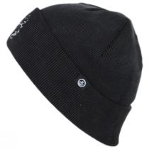 Nowhere Cotton Knit Embroidered Beanie Hat alternate view 2