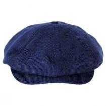 Brood Corduroy Cotton Blend Newsboy Cap in