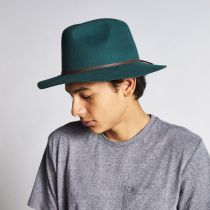 Wesley Wool Felt Fedora Hat in
