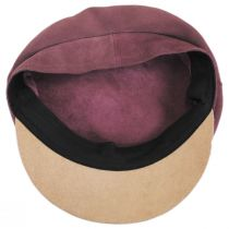 Kayla Leather Suede Fiddler Cap alternate view 16