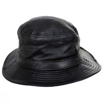 Mathews Genuine Leather Bucket Hat alternate view 2