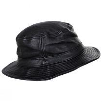 Mathews Genuine Leather Bucket Hat alternate view 3