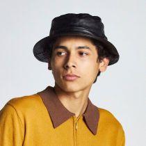 Mathews Genuine Leather Bucket Hat alternate view 6