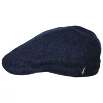Herringbone Wool Pub Cap in
