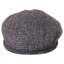 Harris Tweed Wool Slim Ivy Cap in