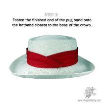 Polka Dot Hatband