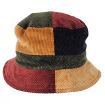 Corduroy Reversible Cotton Bucket Hat in