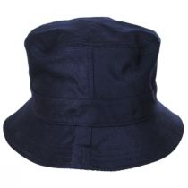 Houndstooth Reversible Cotton and Wool Blend Bucket Hat alternate view 6