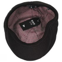 Flannel 7 Panel Cotton and Wool Blend Ivy Cap in