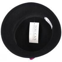 Pansy Wool Felt Cloche Hat alternate view 4