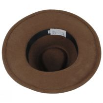 Leather Band Wool Felt Fedora Hat alternate view 8