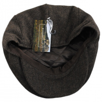 Neville Herringbone Wool Ivy Cap in