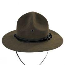 Wool Felt Campaign Hat in
