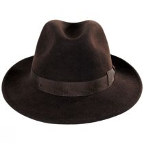 Terrell Crushable Wool Felt Fedora Hat alternate view 6
