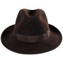 Terrell Crushable Wool Felt Fedora Hat in