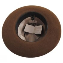 Buck Fur Felt Wide Brim Fedora Hat alternate view 8