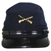 Kepi Wool Civil War Cap alternate view 2