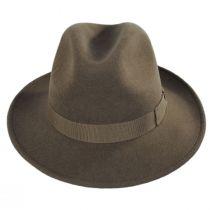 Terrell Crushable Wool Felt Fedora Hat alternate view 10