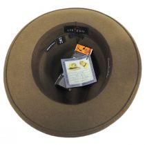Terrell Crushable Wool Felt Fedora Hat alternate view 12
