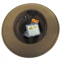 Terrell Crushable Wool Felt Fedora Hat alternate view 36