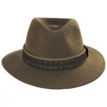 Cliff Crushable Wool Felt Fedora Hat alternate view 2