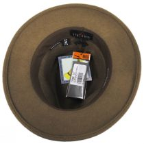 Cliff Crushable Wool Felt Fedora Hat alternate view 12