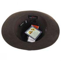 Desmond Crushable Wool Felt Fedora Hat alternate view 4