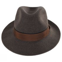 Desmond Crushable Wool Felt Fedora Hat alternate view 10
