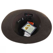 Desmond Crushable Wool Felt Fedora Hat alternate view 12