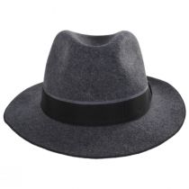 Desmond Crushable Wool Felt Fedora Hat alternate view 6