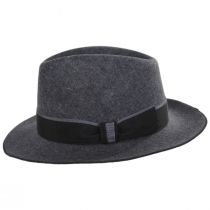 Desmond Crushable Wool Felt Fedora Hat alternate view 7