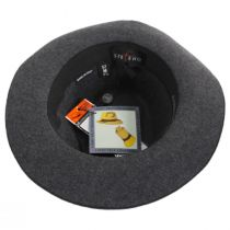 Desmond Crushable Wool Felt Fedora Hat alternate view 8