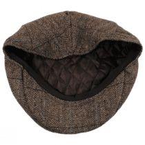 Gibson Herringbone Plaid Wool Blend Ivy Cap in